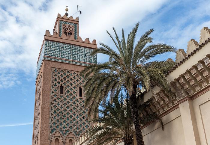 Marrakesch Kasbah-Moschee (Moschee al-Mansur, Moschee von Moulay al-Yazid)