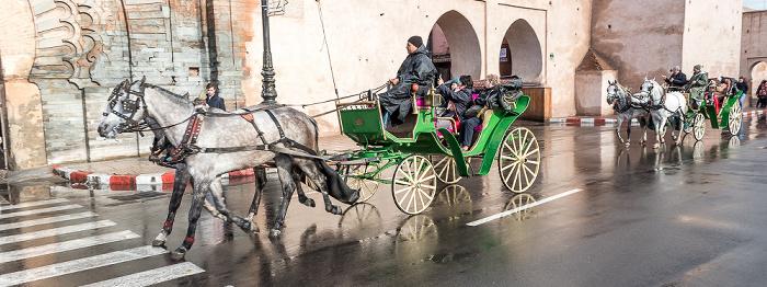 Marrakesch Rue Oqba Ben Nafaa: Pferdekutsche