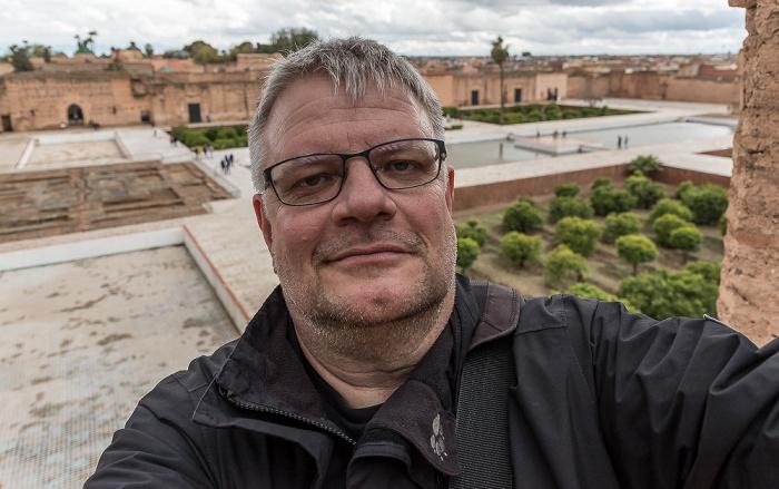 Marrakesch Palais El Badi: Jürgen