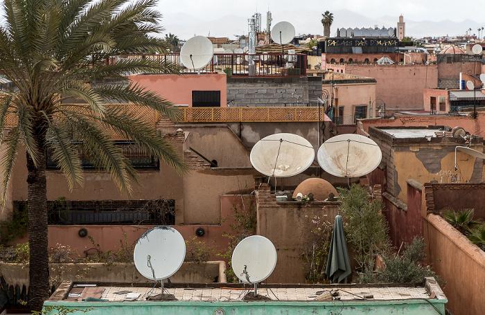Marrakesch Blick vom Palais El Badi: Medina