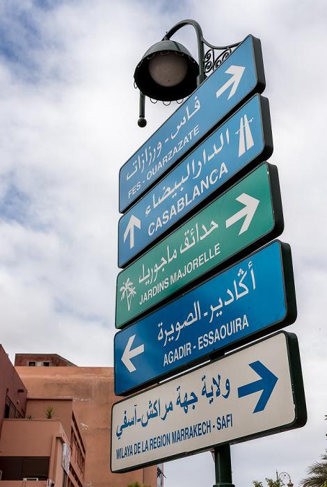 Marrakesch Boulevard Mohamed V
