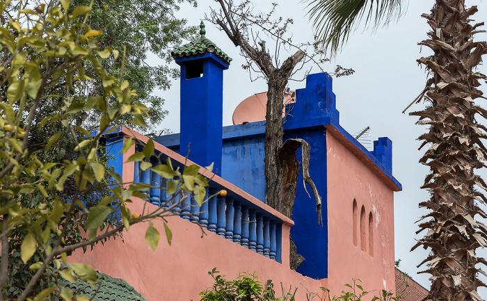 Marrakesch Rue Yves St Laurent: Jardin Majorelle