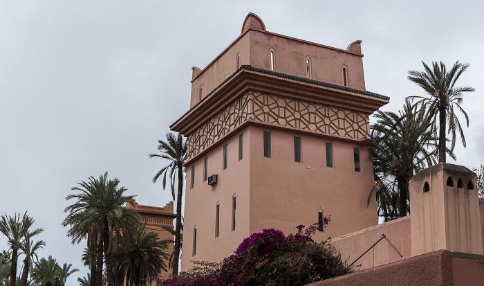 Marrakesch Rue Yves St Laurent