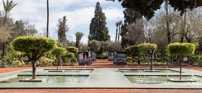 Marrakesch Jardin Arsat Moulay Abdessalam