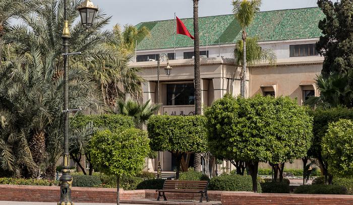Marrakesch Avenue Mohammed V: Hôtel de Ville