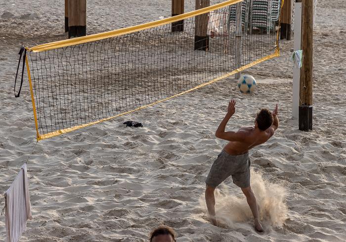 Tel Aviv Frishman Beach: Beachvolleyballspieler