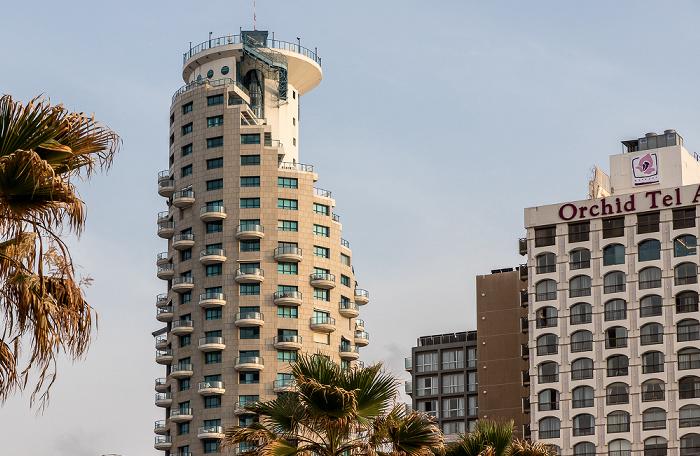 Tel Aviv HaYarkon Street Isrotel Tower Park Plaza Orchid Hotel