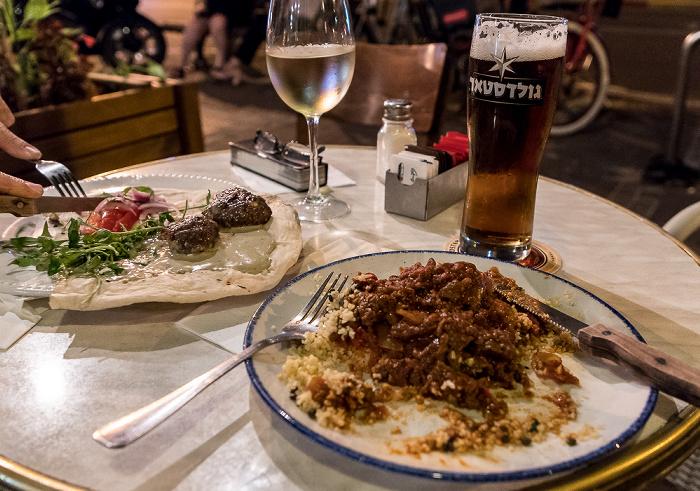 Tel Aviv Bograshov Street: Olive Corner