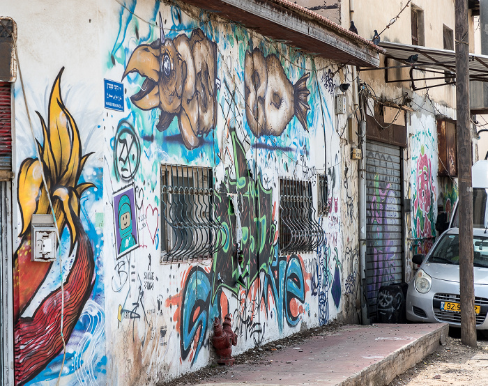 Tel Aviv Florentin: Abarbanel Street