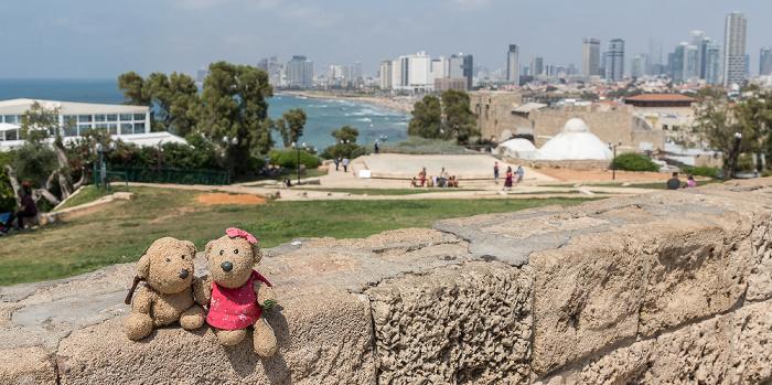 Tel Aviv Alt-Jaffa: Ha-Pisga-Park - Teddy und Teddine Strand