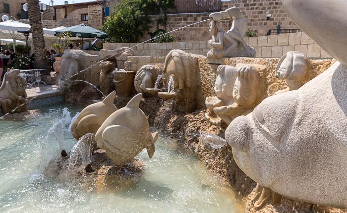 Tel Aviv Alt-Jaffa: Brunnen der Sternzeichen