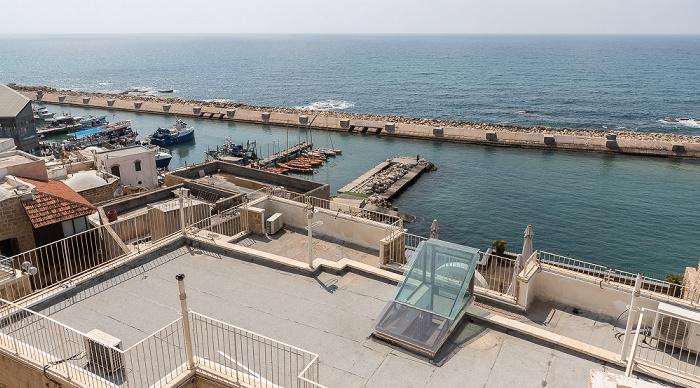 Tel Aviv Alt-Jaffa, Jaffa Port, Mittelmeer