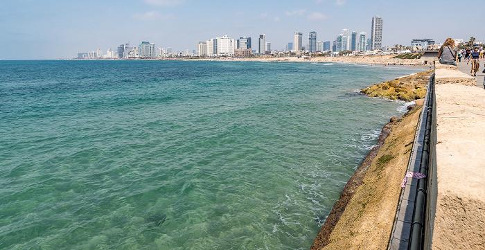 Tel Aviv Mittelmeer, Stadtzentrum