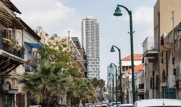 Tel Aviv Jaffa: David Raziel Street  Neve Tzedek Tower