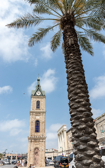 Tel Aviv Alt-Jaffa: Clock Tower Square mit Uhrturm
