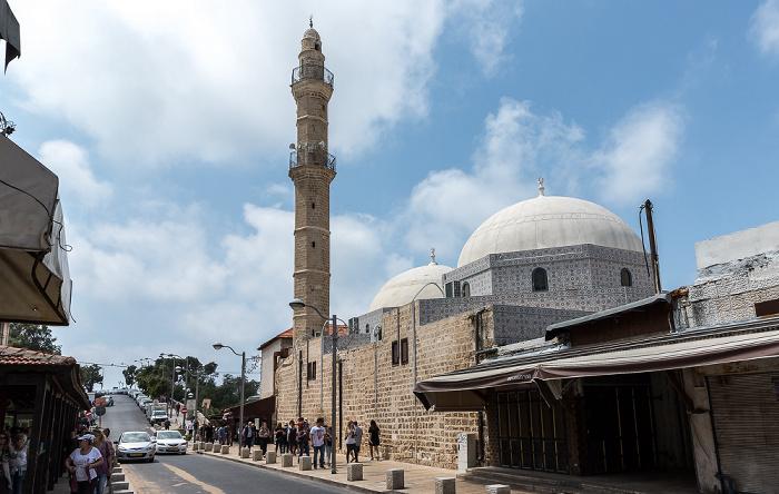 Tel Aviv Alt-Jaffa: Mifrats Shlomo Promenade - Mahmoudiya-Moschee