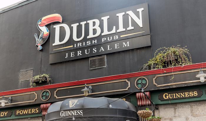 Shamai Street: Dublin Irish Pub Jerusalem