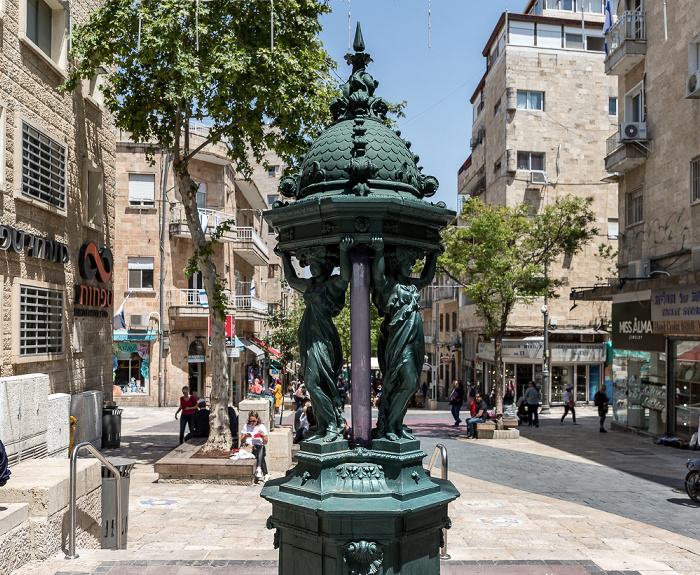Jerusalem Downtown Triangle: Ben Yehuda Street