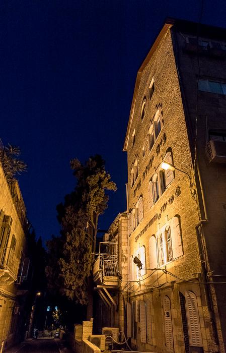 Sima Blilius Street Jerusalem