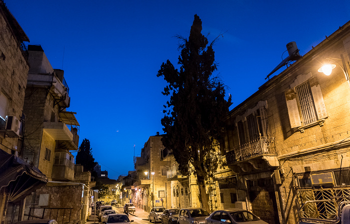 Jerusalem David Yellin Street