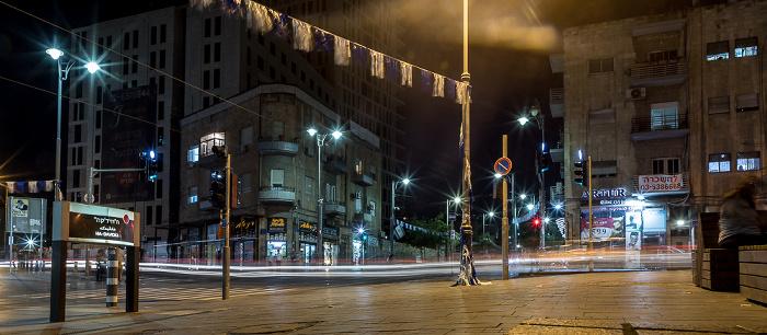 Jerusalem Davidka Square / Jaffa Road / Ki'akh Street