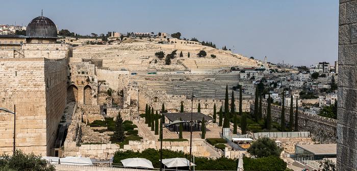 Altstadt: Tempelberg mit Al-Aqsa-Moschee Jerusalem