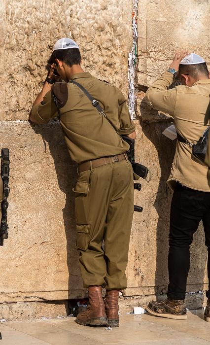 Altstadt: Klagemauer (Westmauer) Jerusalem