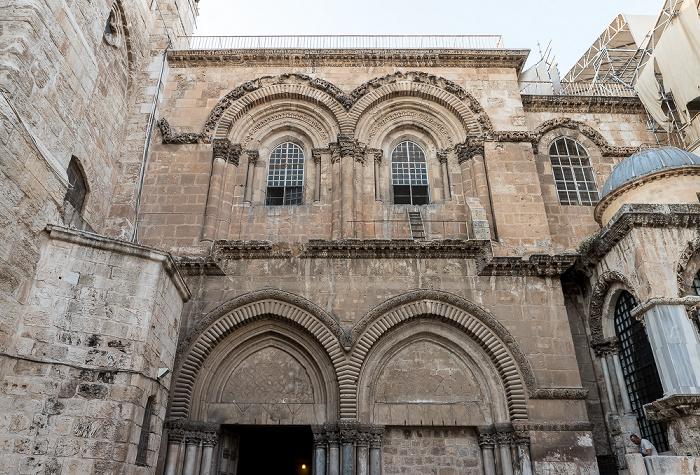 Jerusalem Altstadt (Christliches Viertel): Grabeskirche (Kirche vom heiligen Grab, Auferstehungskirche)