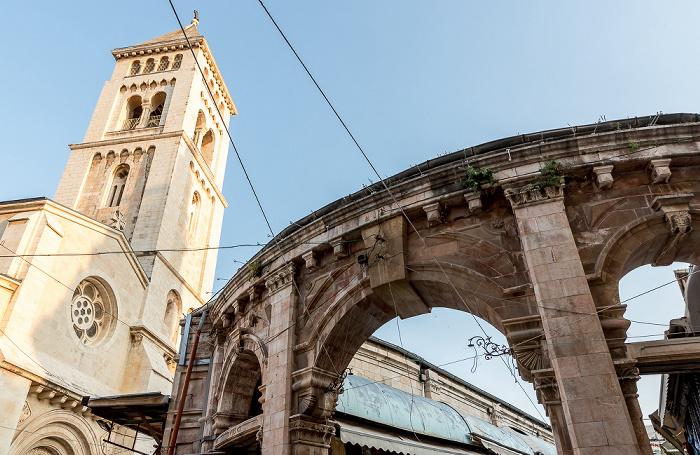 Jerusalem Altstadt (Christliches Viertel): Muristan - Erlöserkirche
