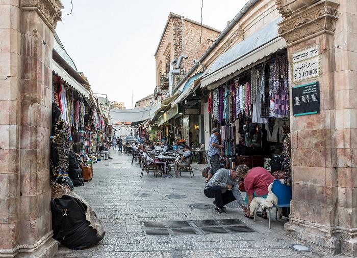 Jerusalem Altstadt (Christliches Viertel): Muristan - Suq Aftimos