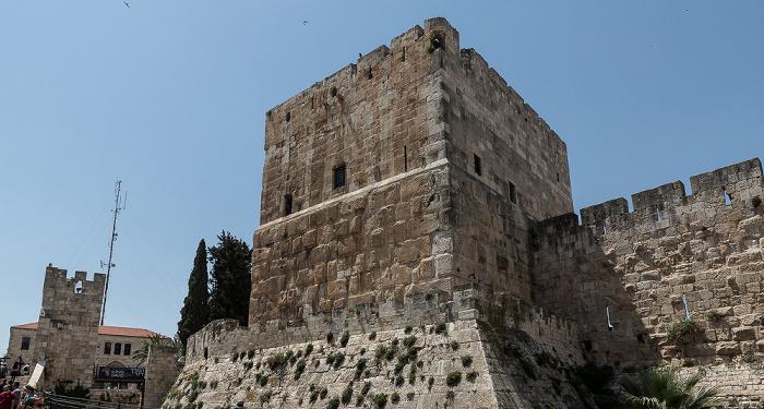 Altstadt: Davidszitadelle Jerusalem
