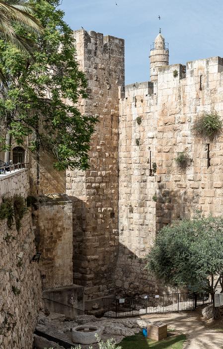 Jerusalem Altstadt: Davidszitadelle