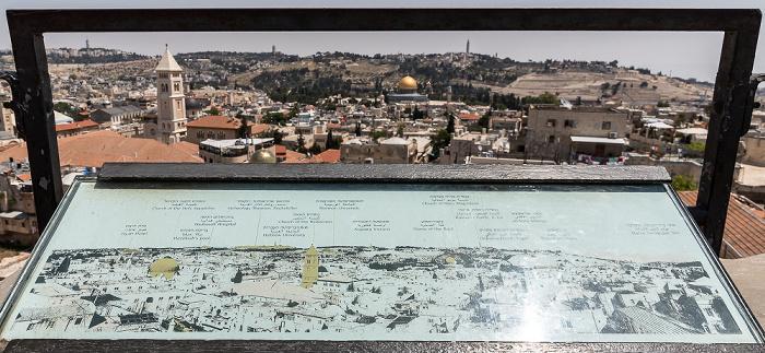 Davidszitadelle und Altstadt Jerusalem
