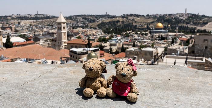 Jerusalem Davidszitadelle: Teddy, Teddine Altstadt