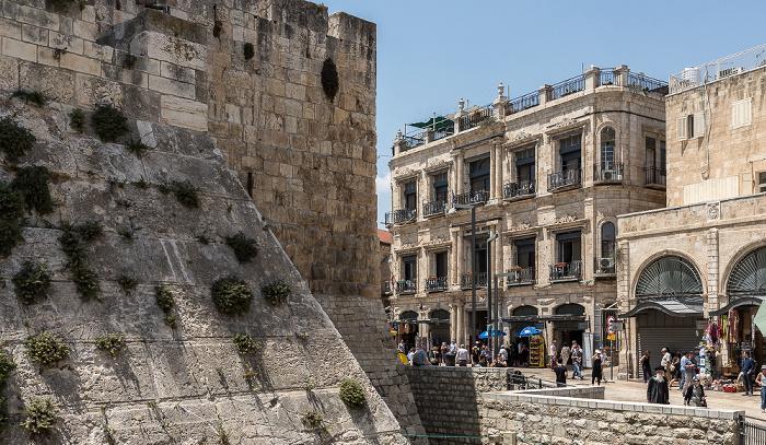 Altstadt: Davidszitadelle, New Imperial Hotel Jerusalem
