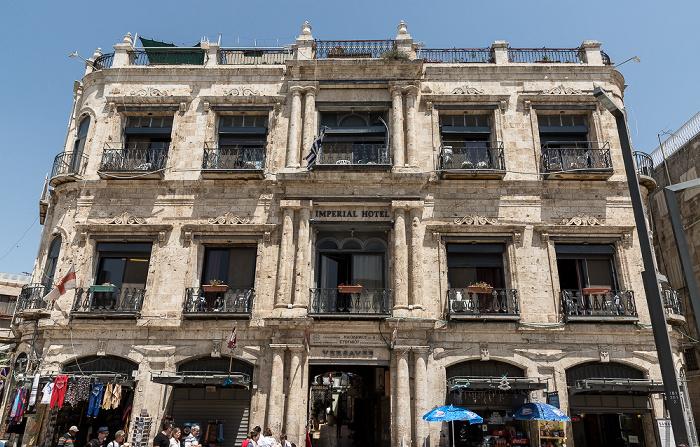 Altstadt: New Imperial Hotel Jerusalem