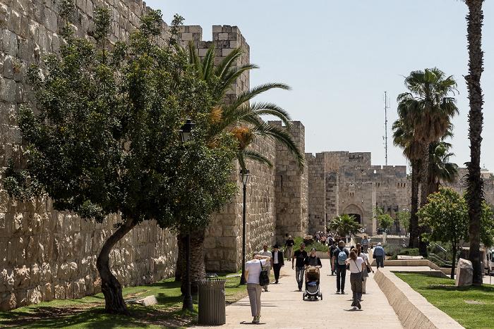 Altstadt: Stadtmauer und Jaffator Jerusalem