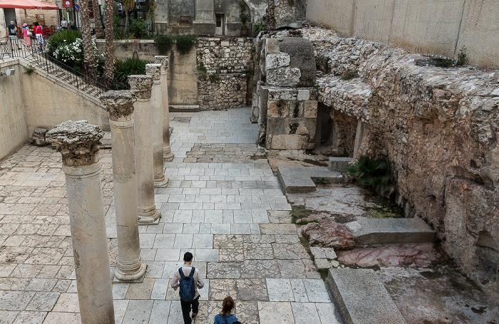 Jerusalem Altstadt (Jüdisches Viertel): Cardo Maximus