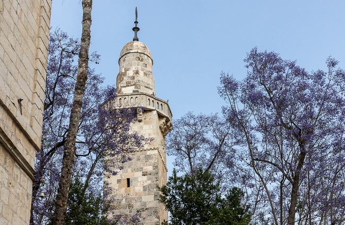 Altstadt (Jüdisches Viertel): Minarett Jerusalem