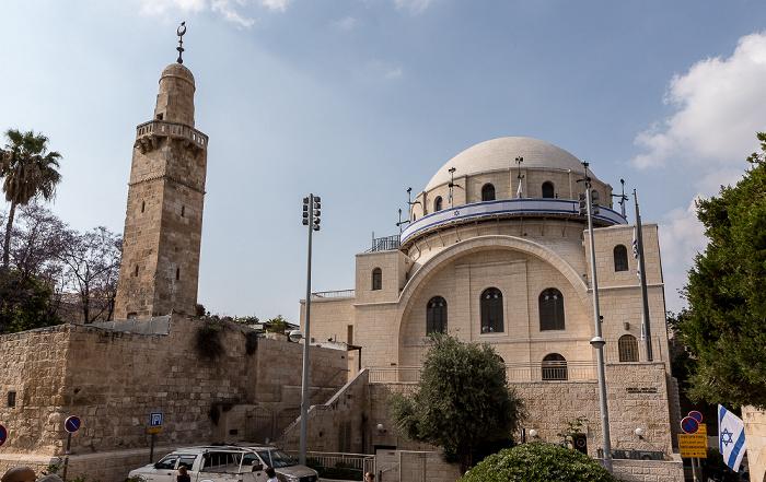 Altstadt (Jüdisches Viertel): Hurva-Synagoge Jerusalem