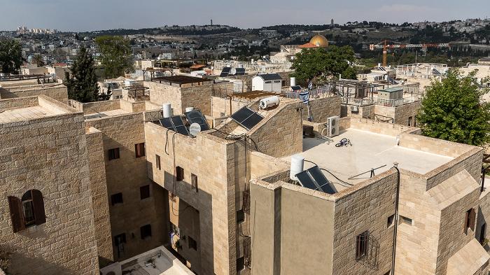 Blick von der Hurva-Synagoge: Jüdisches Viertel der Altstadt Jerusalem
