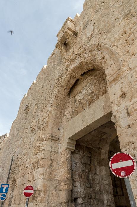 Altstadt: Zionstor Jerusalem