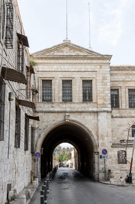 Altstadt (Armenisches Viertel): Kloster St. Jakob Jerusalem