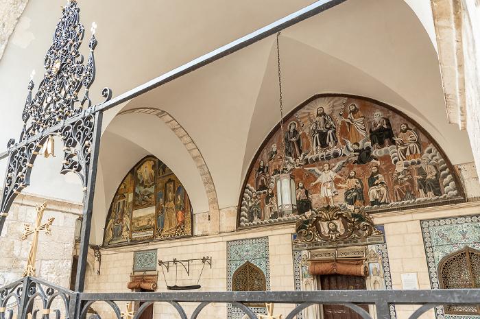 Jerusalem Altstadt (Armenisches Viertel): Kloster St. Jakob