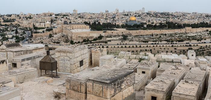 Ölberg: Jüdischer Friedhof Jerusalem