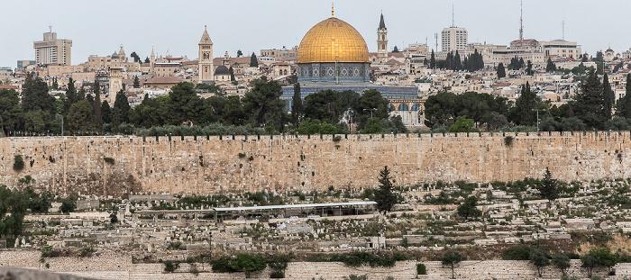 Tempelberg mit Felsendom Jerusalem