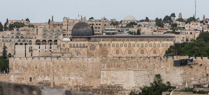 Tempelberg mit Al-Aqsa-Moschee Jerusalem