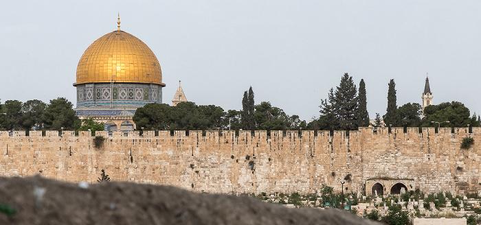 Jerusalem Tempelberg mit Felsendom