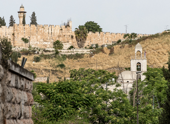 Jerusalem Kidrontal Tempelberg