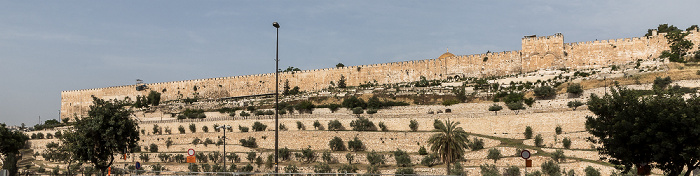 Jerusalem Kidrontal, Tempelberg